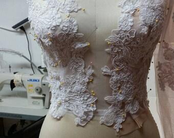 Custom Wedding Dress and Design Your Own Wedding Dress with Award Winning Designer in Teaneck, NJ.