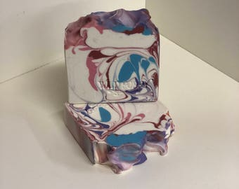 Sweet Pea Soap / Artisan Soap / Handmade Soap / Soap / Cold Process Soap