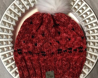 Shades of Red Beanie