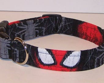 Spidey Dog Collar Spiderman Marvel Comics Spiders Superhero