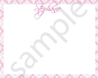 Sophisticated Personal Stationary or Thank You Card - Printable File