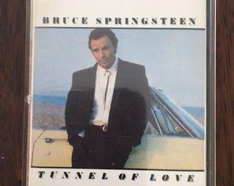 Bruce Springsteen Tunnel Of Love Cassette Tape