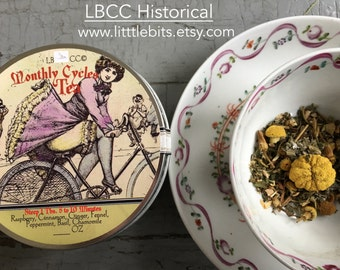 Historical Monthly Cycles Tea-  Female Cycle Tea