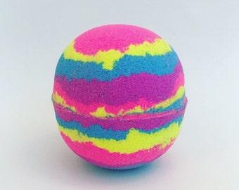 XL Colorful Bath Bomb ~ Bath Fizzy~ Fun Bath Bomb