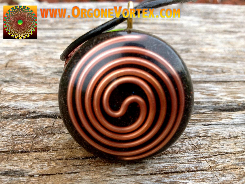 Orgone tesla coil pendant emf blocker chakra balancing zoom mozeypictures Image collections