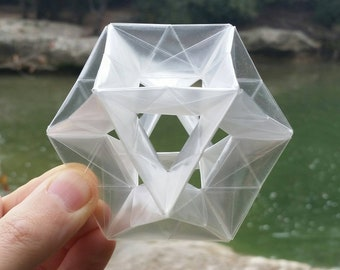 Origami Cuboctahedron Lattice