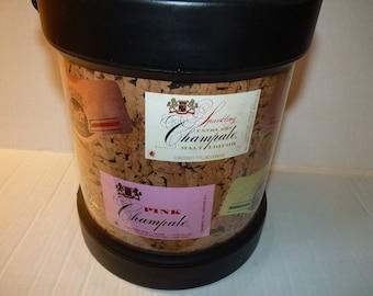 Vintage Golden Pink Champale Malt Liquor Ice Bucket Champagne by Kraftware