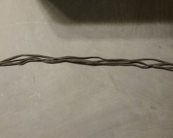 Black Suede Cord For Jewelry Making