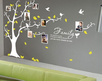 Family Tree Birds Wall Quotes / Wall Stickers/ Wall Decals from AmazingSticker