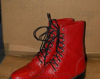 Vintage western Justin boots , made in USA size 7B (womens)