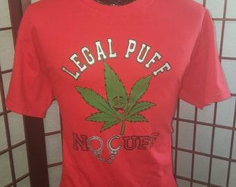 Legal Puff No Cuff (Red)