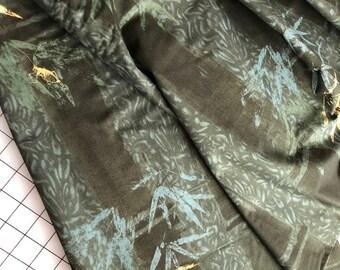 Asian Harmony fabric 2+yds