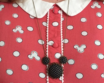 Mickey Mouse necklace - statement, disney character
