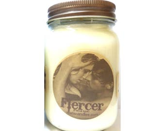 Fiercer (Our Version of A&F Fierce) 16oz Country Jar Handmade Soy Candles Aprox Burn time 144 hours Each