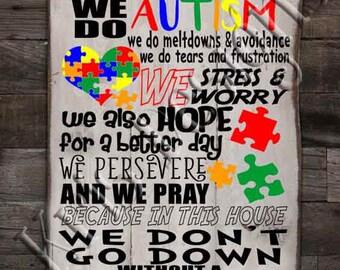 En esta casa - hacemos autismo SVG PNG JPg