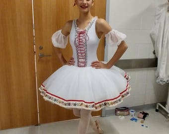 Custom ballet costume -- maiden with bell tutu