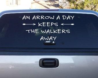Walking Dead Quotable-Vinyl Decal