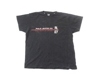 Black And White Ralph Lauren T Shirt