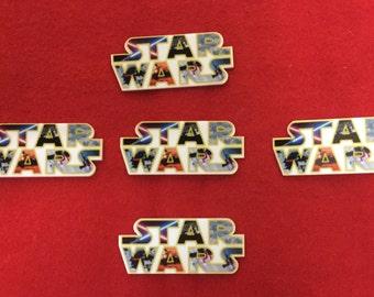 Set of 5 Star Wars Resin (white background)