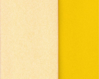 Gloria Doublette Double Sided Crepe Paper For Flower Making Made In Germany Butter And Bright Yellow  #3304