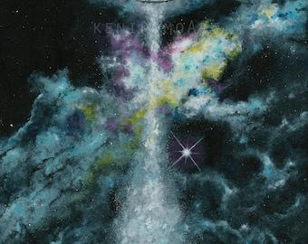 Horizons by KenikomoArt - FIne Art Giclee Print