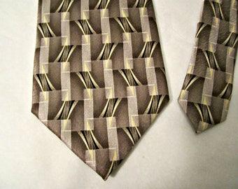 Silk Necktie, Pierre Cardin necktie, Silk necktie, Vintage silk necktie
