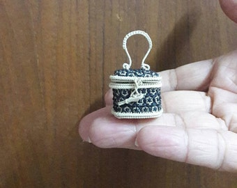 mini wicker basket made of bamboo and basket..product from Bangkok Thailand