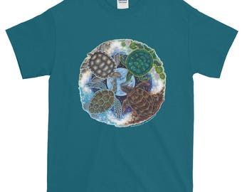 Turtle Totem Earth Guardian T-Shirt