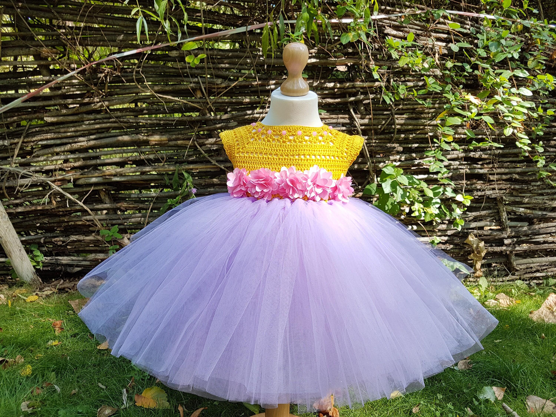 tutu dresslavender tutu dress wedding dress flower girl