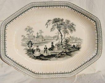 William Adams and Son Ironstone Platter