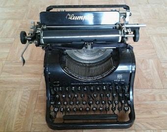 Vintage, antique Olympia typewriter 8B
