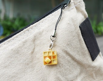 Waffle With Butter And Syrup Charm