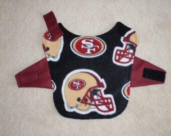 San Francisco  Fleece Dog Coat