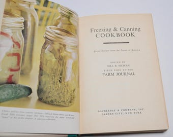 Vintage Freezing and Canning Cookbook, Farm Journal