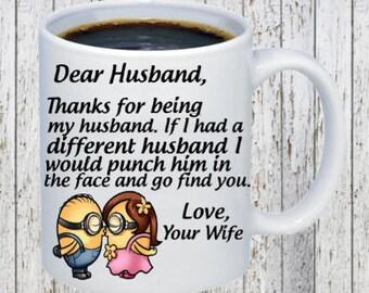 Dear husband Coffee Mug