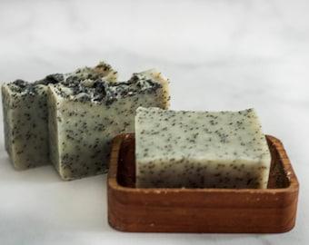 Exfoliating Soap - Soap - The Exfoliator - Natural Soap - Cold Process Soap - Handmade Soap -Body Scrub Soap - Homemade Soap - Bar Soap