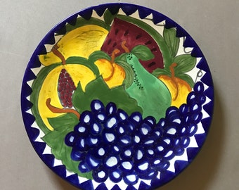 Vintage Mexican Plate