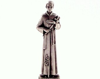 St Gerard Miniature Italian Religious Pocket Statue | Patron of Childbirth, Pregnancy and Fertility