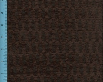 Chenille Hummarrock Chocolate Brown Home Decorating Fabric, Fabric By The Yard
