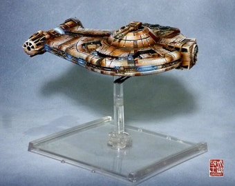 X wing, Cargo, Vaisseau Star Wars, pro painting.