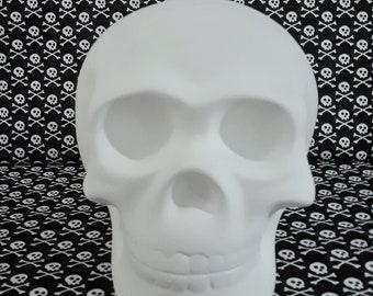 Paint Your Own Ceramic Skull