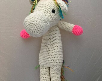 Bob's Your Unicorn- A Plush Huggable Rainbow Unicorn