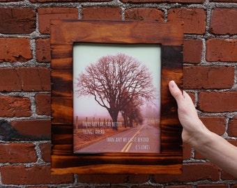 C.S. Lewis Encouragement Future Home Decor Wall Hanging 8x10 Premium Photo Print