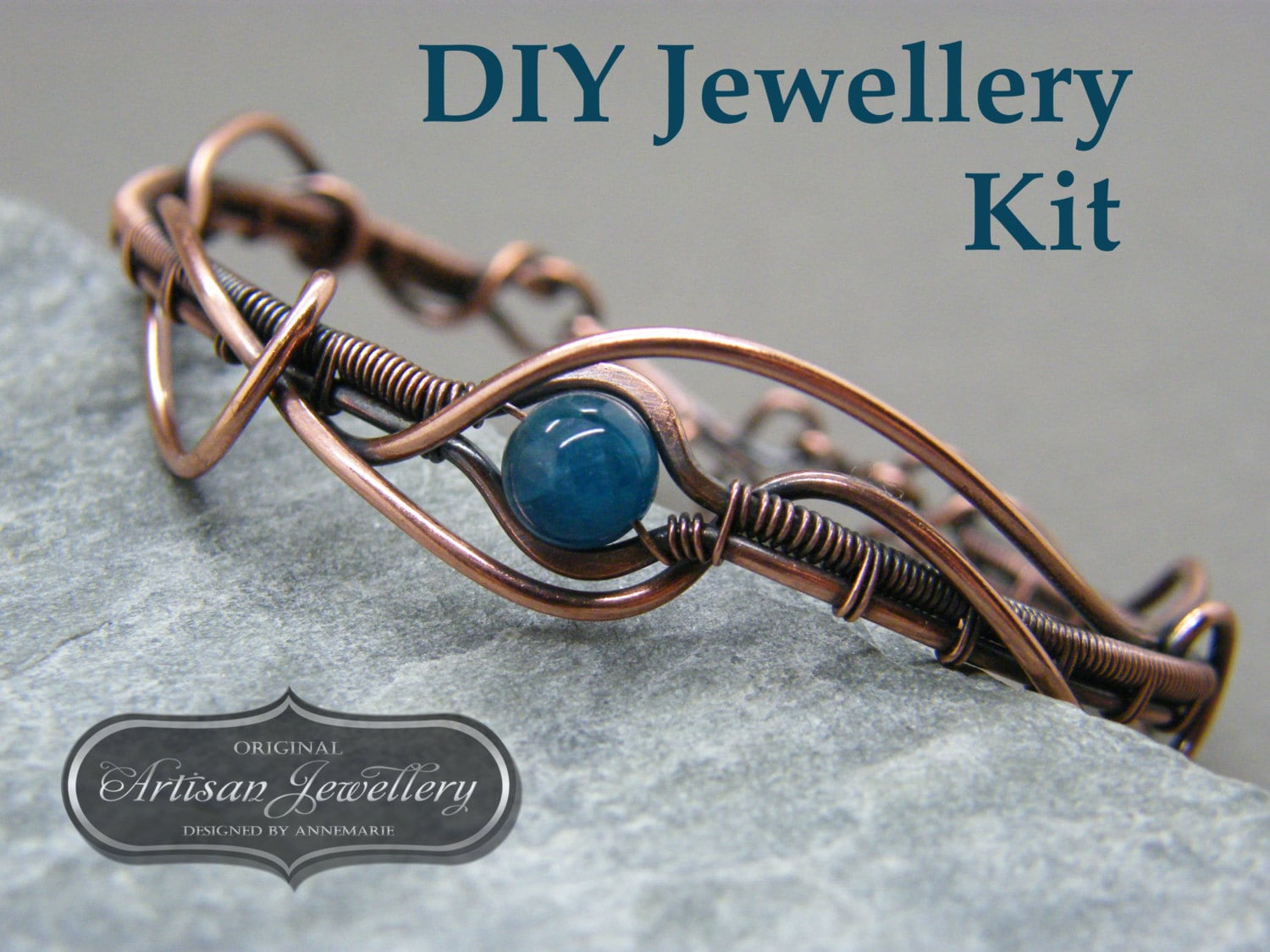 Wire wrapped jewellery kit wire wrapping tutorial wire wrapped 2199 baditri Images