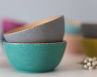 Jewel Bowls/set of 2 - Gifts for Her, Gifts Under 20dollars