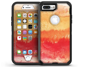 Red v3 Absorbed Watercolor Texture - OtterBox Case Skin-Kit for the iPhone, Galaxy & More