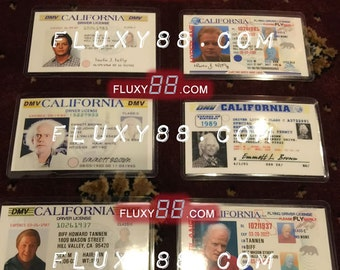 Back to the Future - 6 Driver License Props!