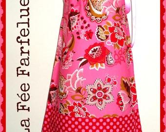 Dress, cotton, SALAMBO 2 to 10 years