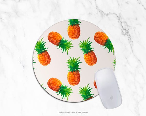 Pineapple Mousepad Pineapples mouse pad Round mousepad Rectangle Mouse pad Beautiful Design Mouse mat Cute gift Mousepad 24