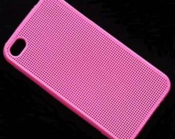 Stitchable Smartphone Case Beading or Cross Stitch - Hot Pink